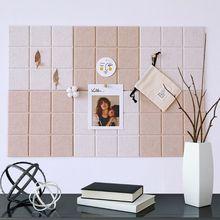 Скандинавский стиль войлок фон письмо доска фото стена Бытовая сообщение дисплей 30x30 см
