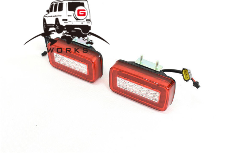 rear bumper LED W463 (14)