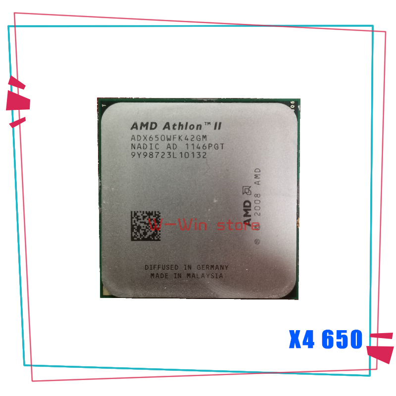 Amd Athlon Ii X4 650 3 2 Ghz Duad Core Cpu Processor X4 650 Adx650wfk42gm Socket Am3 Sell X4 630 X4 635 X4 640 X4 645 Cpus Aliexpress