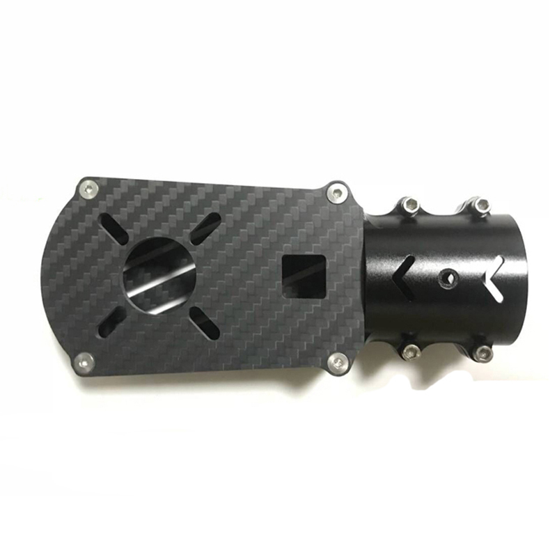 Image 2 - 2PCS Aluminum Alloy D16/25/30/35mm Motor Seat Carbon Tube Fixed  Mount Connector Holder Bracket Base for RC Plant UAV DroneParts & Accessories   -