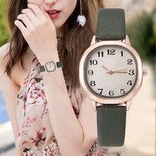 Women Watches Small Delicate Square Dial Ladies Quartz Wristwatch Solid Color Le