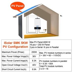 Image 5 - Bluetooth 5000w Parallel Inverter 220V 48v solar Inverter 80A MPPT solar charger Off Grid Pure Sine Wave 80A Battery Charger