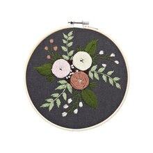 «Сделай сам» вышивка крестиком комплект с цветочным рисунком