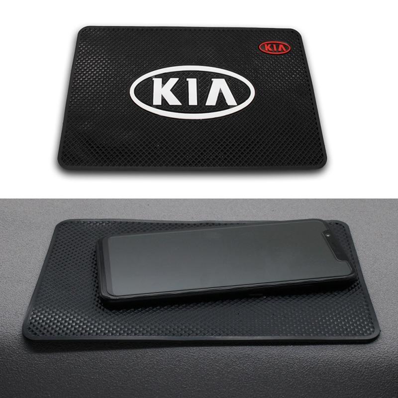 Car PVC Anti-Slip Mat Sticky Pad Automobiles Interior Dashboard Non Slip Mat For KIA K2 K3 K5 k9 Sorento Sportage R Rio Soul