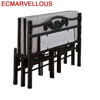 цена на A Castello Single Tempat Tidur Tingkat Modern Matrimonio Literas Room Frame bedroom Furniture Mueble Cama Moderna Folding Bed
