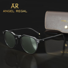 2021 Vintage Polarized Acetate Sunglasses Superior Quality Popular Sun Glasses With Oringnal Case Brand Designer Outdoor Driving