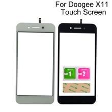 Touch Glass Sensor Panel For Doogee X11 Touch Screen Digitizer Touchscreen Mobile Tools 3M Glue смартфон doogee x11 1 8gb черный