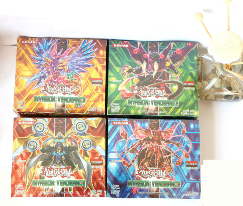 216pcs/1set Yugioh Game Paper Cards Yu Gi Oh Carte Pets Digital Kids Action Figure Toy Free Shipping image