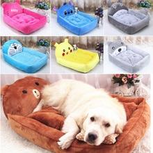 HIPET Cat Dog Bed Mattress Warm Kennel For Puppy Cartoon Animal Shaped PP Cotton Waterproof Bottom Pet Dogs Sleeping Mat Pad