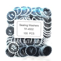 100pcs,Car A/C Compressor Oil Seal/ LIP TYPE Rubber-Mounted Shaft Seal R134a,SEAL WASHER ,Seal Stamp,Gasket FOR Auto A/C System