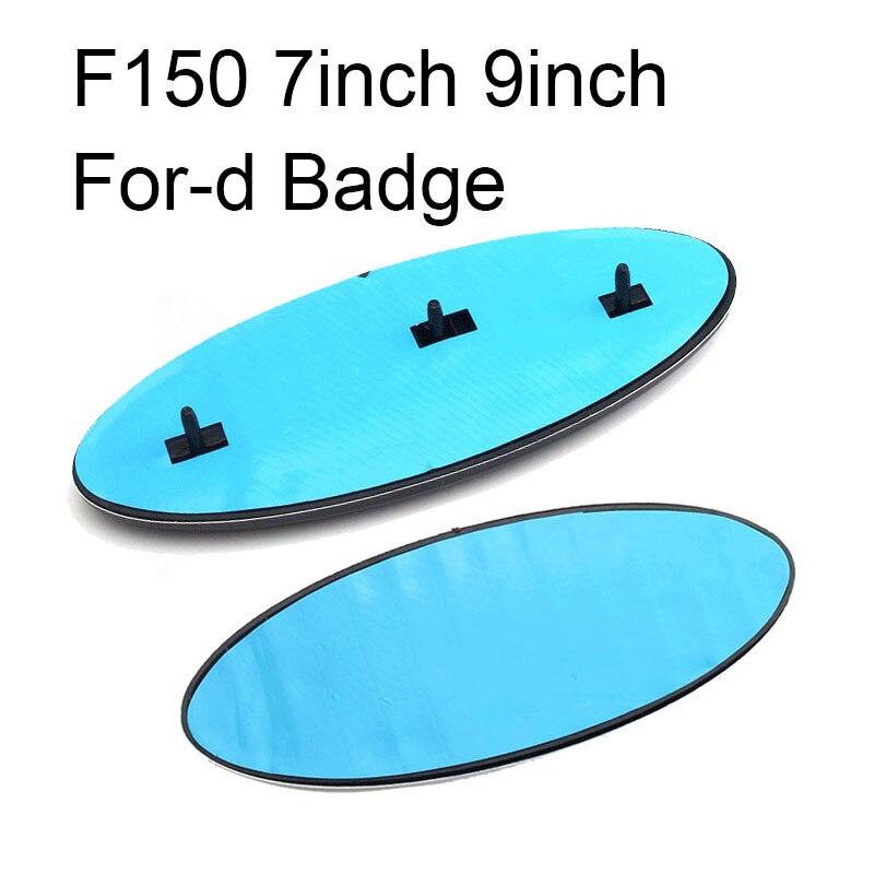 Для Ford логотип 9 дюймов передний капот автомобиля эмблемы значка и 7 дюймов задний багажник Стикеры F150 F250 проводник с логотипом Skull