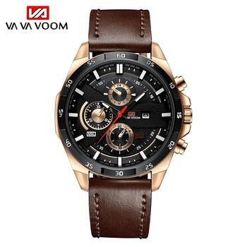 2021 New Arrival Moderno Watches Mens Sport Reloj Hombre Casual Relogio Masculino Para Military Army Leather Wrist Watch For Men - 216P-H-FK