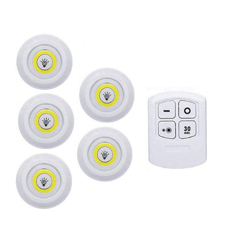 1 Remote 5 Lamp