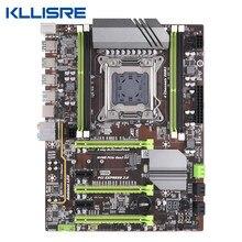 Placa-mãe Kllisre X79 LGA2011 ATX USB3.0 SATA3 PCI-E NVME M.2 SSD suporte REG ECC memory e processador Xeon E5