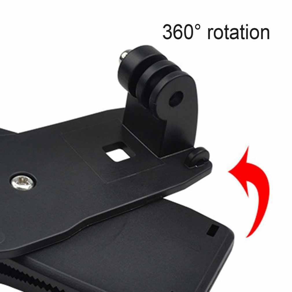 Quik Release 360 obrotowy zacisk plecaka rec-mounts szybki spinka do kapelusza uchwyt na gopro Hero7 6 5 4 3 2 i dla Xiaomi YI