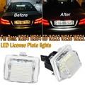 PMFC светодиодный номерной знак света лампы белого нет Hyper флэш-12V для Mercedes-Benz W204 W204 5D W212 W216 W221 CanBus без ошибок