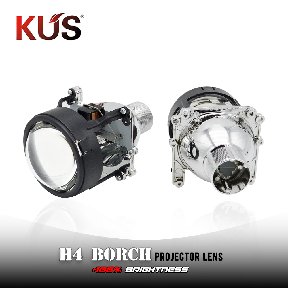 bi xenon hid Projector lens car assembly kit 2.5 2.8 3.0 inch size hella 5 light function use d2s d2h bulbs fit H4 car styling