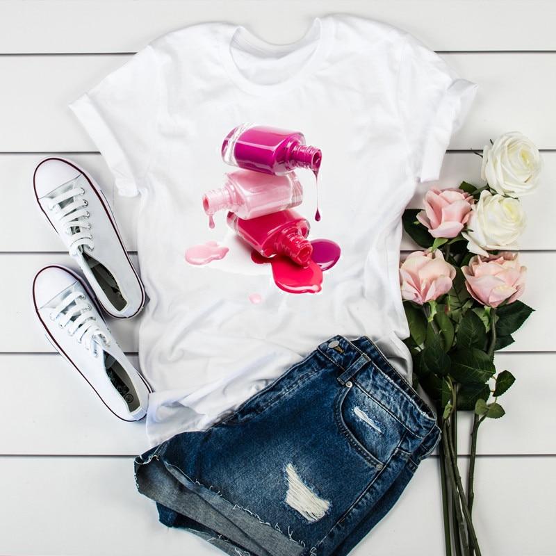 Women 2020 3D Print 90s Vogue Fashion Tops Tumblr Tshirts Clothe Womens Ladies Graphic Female Tee T-Shirt Clothing drop shipping 1