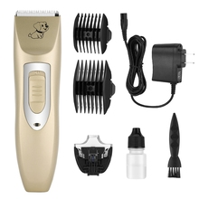 Professional Dog Hair Clippers Grooming Kit Low Noise Rechargeable Cordless Dog Cat Pet Electric Hair Clipper​ Trimmer 100V-240V professional dog hair clippers grooming kit low noise rechargeable cordless dog cat pet electric hair clipper​ trimmer 100v 240v