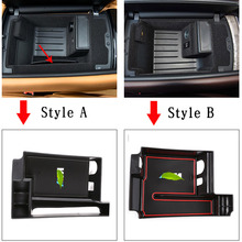 For BMW 7 Series G11 G12 2016 2020 ABS Car Storage Box Central container holder styling insert tray clapboard Car Accessories