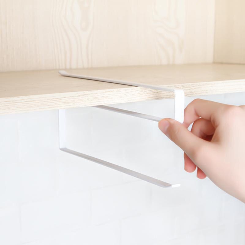 Kitchen Toilet Paper Holder Tissue Holder Hanging Bathroom Toilet Paper Holder Roll Paper Holder Towel Rack Stand