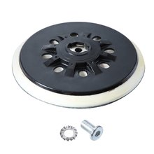 6 inch 17 hole sanding disc buckle polishing self adhesive flocking