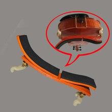 """Несколько положения Регулируемый кленовый плечевой упор/коврик для скрипки 3/4-4/4 или 1""""-15,5"""" альт, эргономичный, простой в использовании и регулировки"""