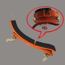 multiple position adjustable maple shoulder rest / pad for 3/4-4/4 violin or 14