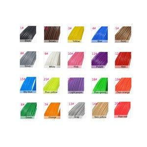 Image 5 - Drukarka do długopisów 3d włókno ABS/PLA, średnica 1.75mm włókno z tworzywa sztucznego abs / pla tworzywo sztuczne 20 kolorów, bezpieczeństwo bez zanieczyszczeń