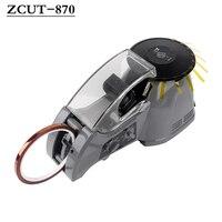 ZCUT 870 220V 3 25mm Breite Automatische Verpackung Dispenser Drei Intelligente arbeits modi Klebeband Schneiden Cutter Maschine-in Elektrowerkzeuge Zubehör aus Werkzeug bei