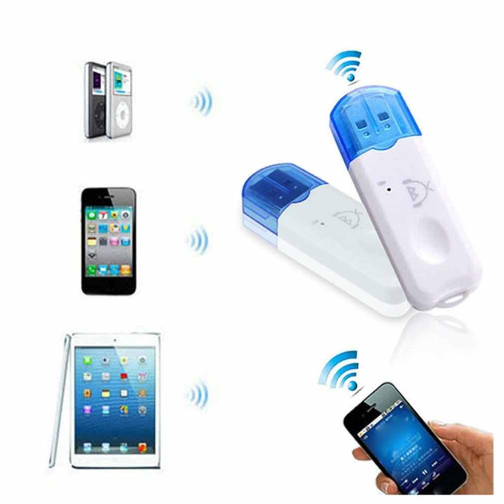 Usb Bluetooth 2.1 Ontvanger Audio Stereo Adapter Draadloze Handsfree Dongle Kit Voor Speaker Auto Mp3 Speler Smart Telefoons