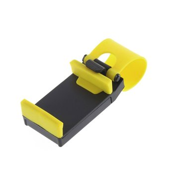 Car Steering Wheel Bike Clip Mount Holder Rubber Band For iPhone iPod MP4 GPS Mobile Phone Holders car cover New image