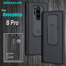 OnePlus 8 Pro Camera Protection Case For Oneplus8 Pro Case NILLKIN Slide Protect Cover Lens Protection Case on One Plus 8 Pro