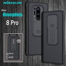 OnePlus 8 Pro 카메라 보호 케이스 Oneplus8 Pro 케이스 용 NILLKIN 슬라이드 보호 커버 렌즈 보호 케이스 One Plus 8 Pro