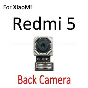 Image 3 - אחורי עיקרי חזית מול מצלמה להגמיש כבל עבור Xiaomi Mi 5S Redmi 5 בתוספת הערה 5A 5 פרו חזרה גדול קטן מודול סרט