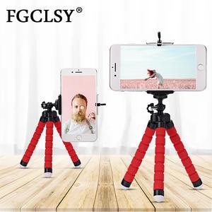 FGCLSY Octopus-Tripod Monopod-Holder Sponge Huawei Flexible iPhone Xiaomi Mini Samsung