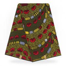 африканская настоящий реальный африканский ткань 2020 высокое качество Анкара воск печать ткань Оптовая