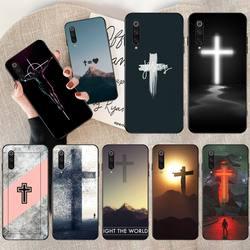 Hpchcjhm bíblia jesus cristo cristão macio silicone preto caso de telefone para redmi nota 8 8a 7 6 6a 5 5a 4 4x 4a go pro plus prime