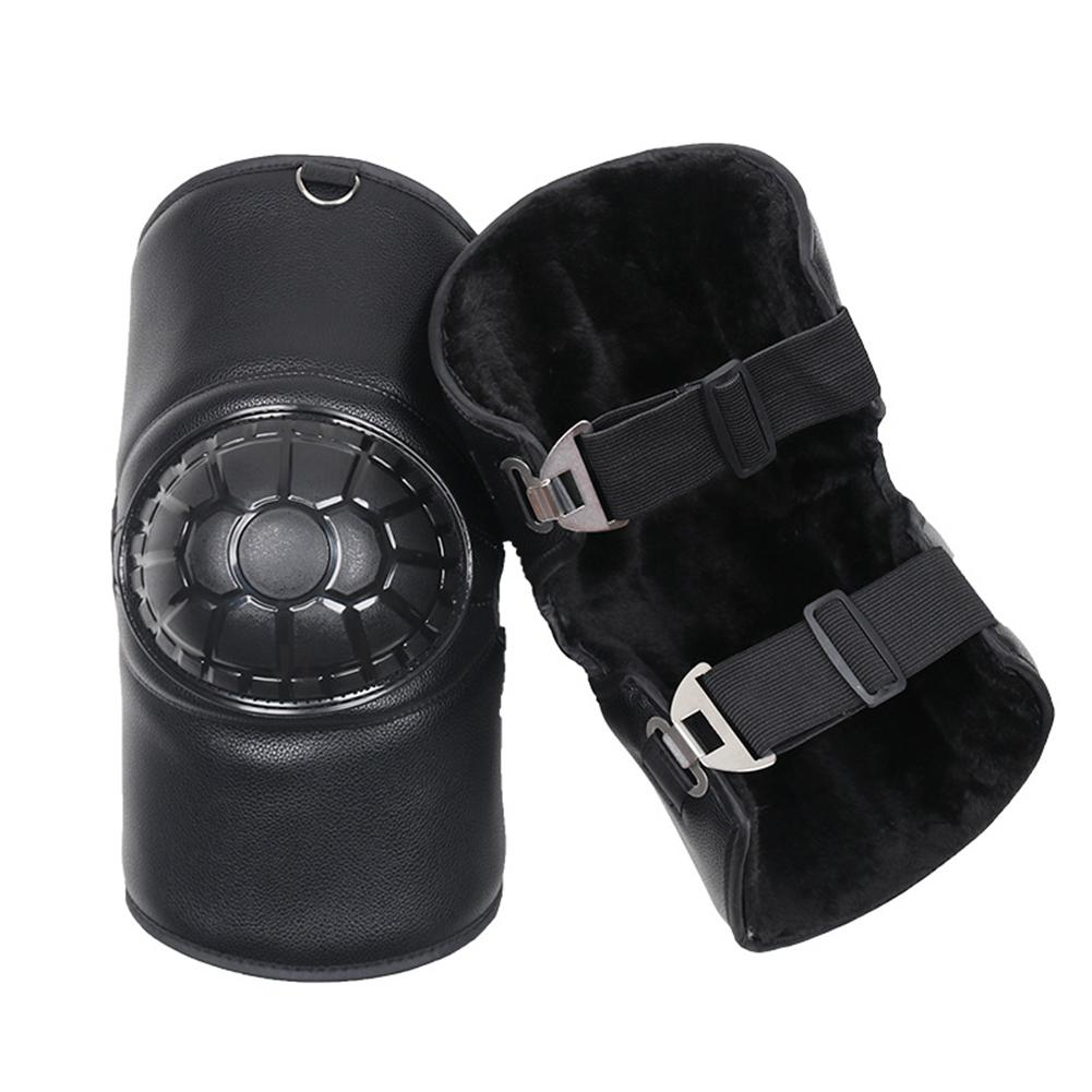 Motorcycle Scooter Protective Knee Pads Thick Warm Shatter-Resistant W