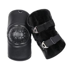 Motorcycle Scooter Protective Knee Pads Thick Warm