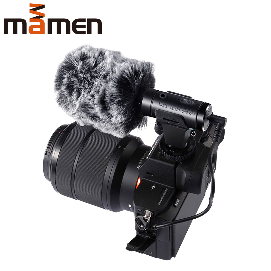 High quality Compatible Phone and Camera Microphone Super Low Noise Photography Interview Digital Video Recording Microphone 07