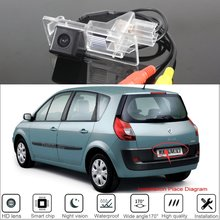 Car Rear View Reverse Backup Camera For Renault scenic 2 II Renault Grand scenic 2003~2009 For Parking HD Night Vision