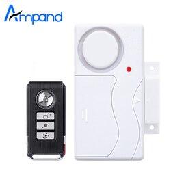 Беспроводная домашняя охранная сигнализация для окон и дверей, магнитный датчик с дистанционным управлением, дверной датчик, сигнализация