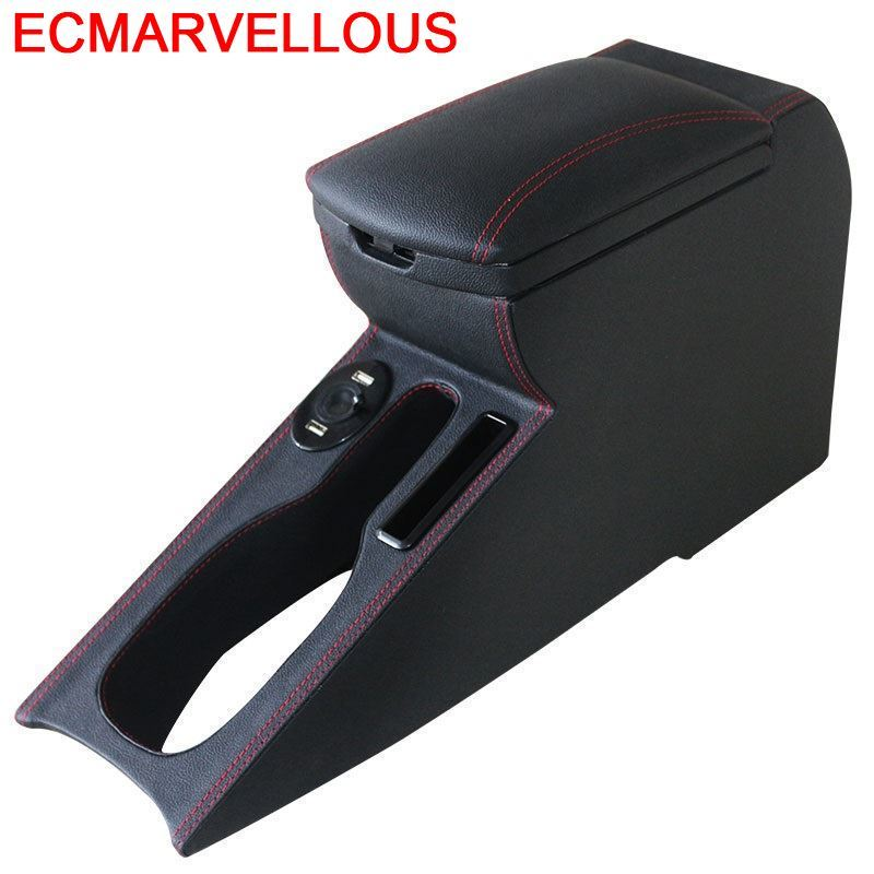 Styling Auto Arm Rest Car-styling Car Mouldings Upgraded Decoration protector Modified Armrest Box 16 17 FOR Volkswagen Polo