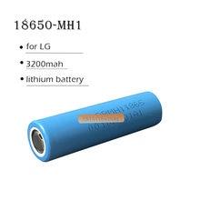 Batterie lithium 18650 pour LG 3200mAh, 1 pièce, rechargeable, haute capacité, décharge 10A, pour drone