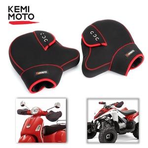 Image 1 - Motorcycle Gloves handlebar levers gloves Scooter Hand Bar Winter Gloves ATV Fur Mitts Motorbike Quad Bike Waterproof
