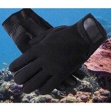 DIVESAIL 1.5 мм неопрена дайвинг перчатки плавать с анти-царапин подводное нейлон ленты для зимы теплый плавание дайвинг серфинг Drop доставка