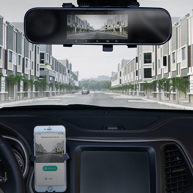 70mai Cam-Mirror DVR Parking-Monitor ADAS Smart-Car English-Version 24H GPS 1 Xiaomi