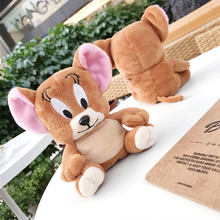 3D Cute Cartoon Plush Doll Jerry Mouse Headphone Case For Apple Airpods 1/2 Individuality Cloth Protective Earphone Cover Cases(China)