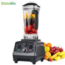 3HP 2200W Heavy Duty Kommerziellen Grade Automatische Timer Mixer Mixer Entsafter Obst Küchenmaschine Eis Smoothies BPA FREI 2L jar